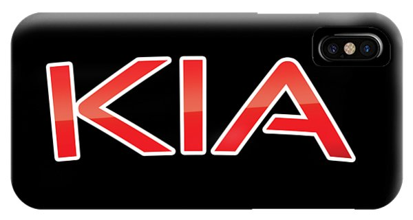 IPhone Case featuring the digital art Kia by TintoDesigns