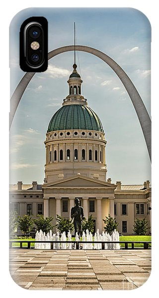 IPhone Case featuring the photograph Kiener Plaza by Andrea Silies