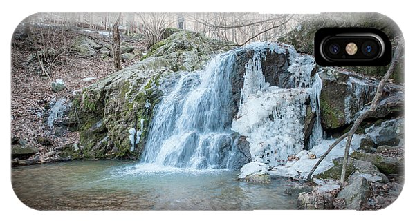 Kilgore Falls In Winter IPhone Case