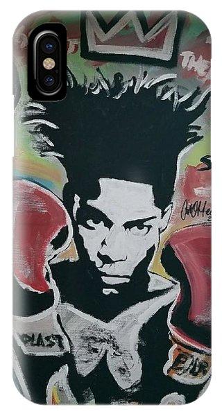King Basquiat IPhone Case