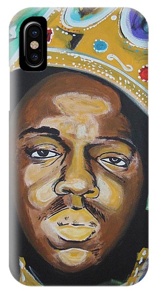 King Christopher IPhone Case