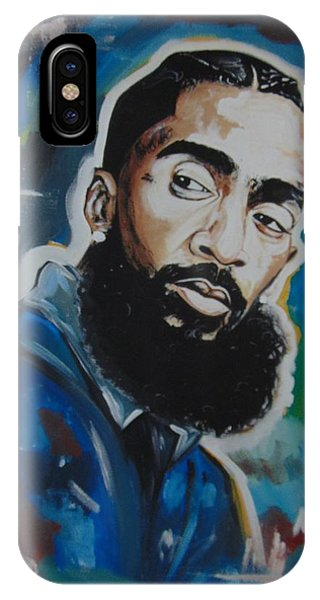 King Nipsey IPhone Case