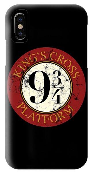 Snape iPhone Case - Kings Cross Platform  by Ferdinand Sinaga