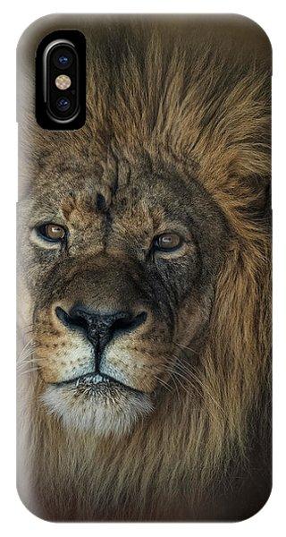 King's Gaze IPhone Case