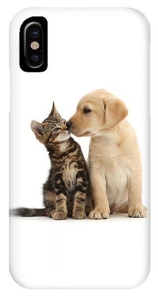 IPhone Case featuring the photograph Kisses For My Darling by Warren Photographic