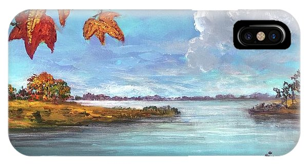 Kites, Clouds And Sailboats IPhone Case