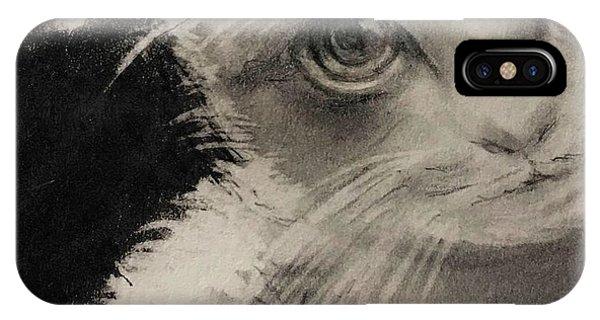 Lavender iPhone Case - Kitten by Lavender Liu