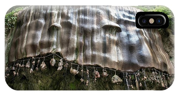 Knaresborough, Stone Waterfall IPhone Case