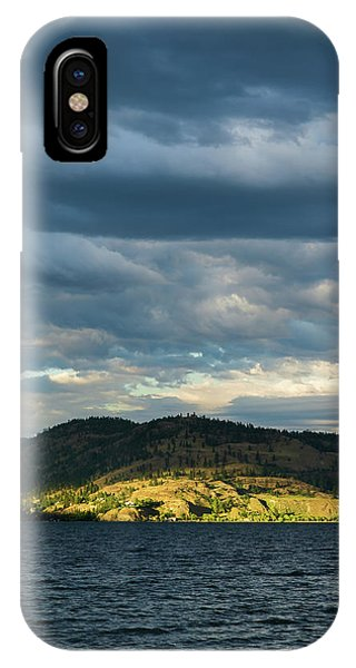 Knox Mountain At Sunset IPhone Case