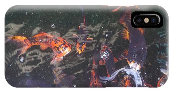 Koi In A Pond IPhone Case
