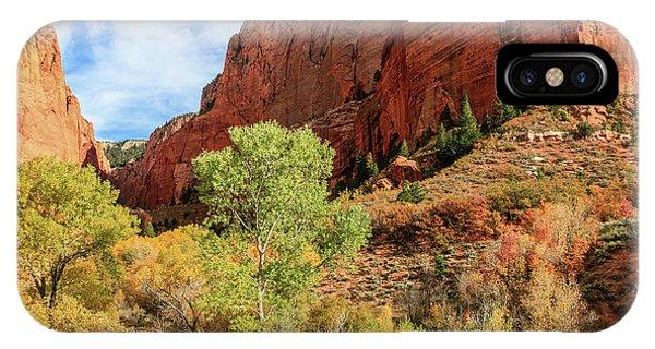 Kolob Canyon 1, Zion National Park IPhone Case