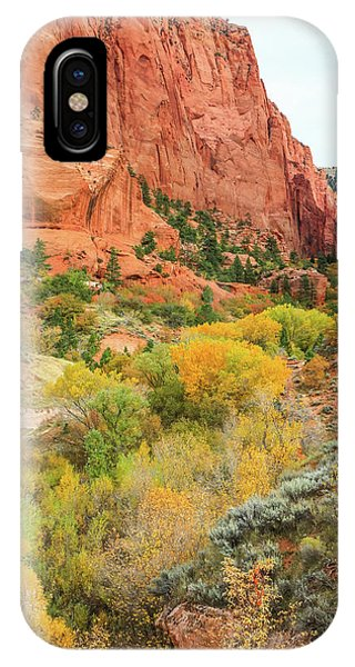 Kolob Canyon 2, Zion National Park IPhone Case