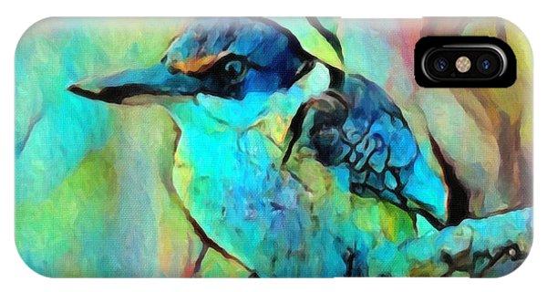 Kookaburra Blues IPhone Case