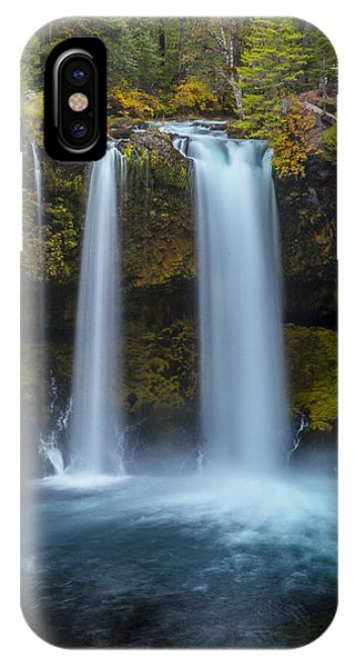 IPhone Case featuring the photograph Koosha Falls In Fall by Matthew Irvin
