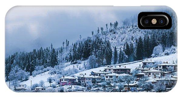 Koprivshtica Winter Panorama IPhone Case