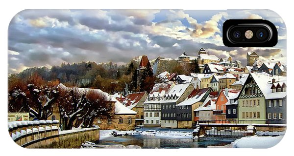 Kronach Winter Scene IPhone Case