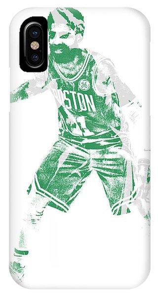 Kyrie Irving iPhone Case - Kyrie Irving Boston Celtics Pixel Art 72 by Joe Hamilton