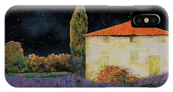 Lavender iPhone Case - La Casa Tra Le Lavande by Guido Borelli