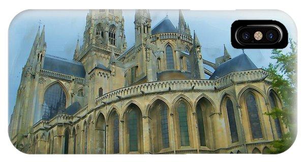 La Cathedrale De Bayeux IPhone Case