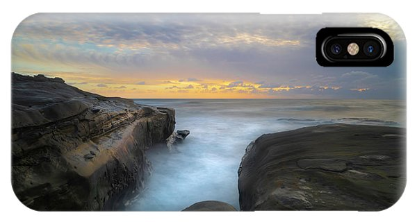 Pacific Ocean iPhone Case - La Jolla California Sunset by Larry Marshall