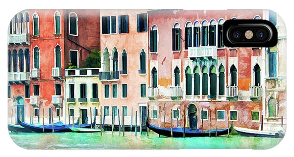 Palace iPhone Case - La Serenissima by Delphimages Photo Creations