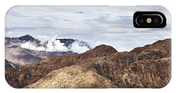 IPhone Case featuring the photograph Ladakh Peaks by Whitney Goodey