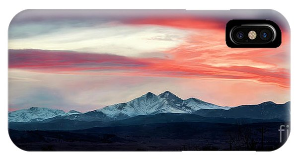 Ladies In The Sky Winter Sunset IPhone Case