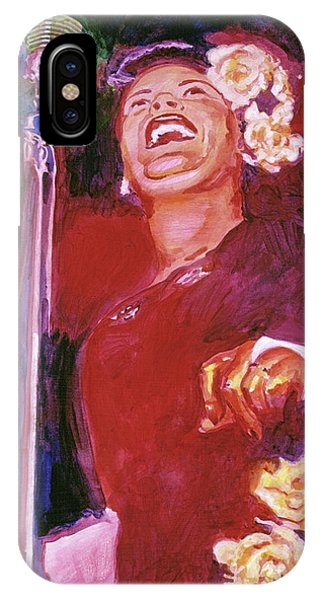 Lady Day - Billie Holliday IPhone Case