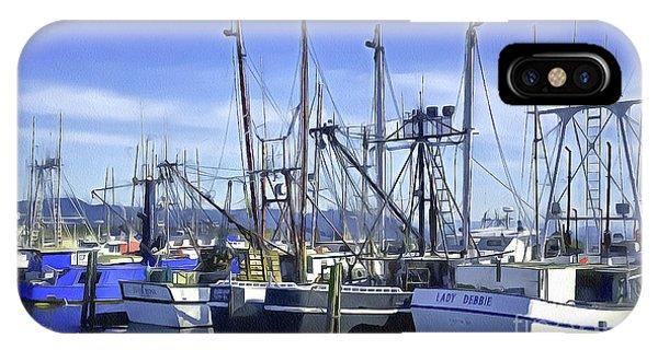 Port Of Ilwaco IPhone Case