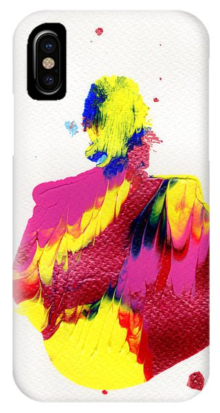 Lady Dressed In A Ballroom Gown IPhone Case