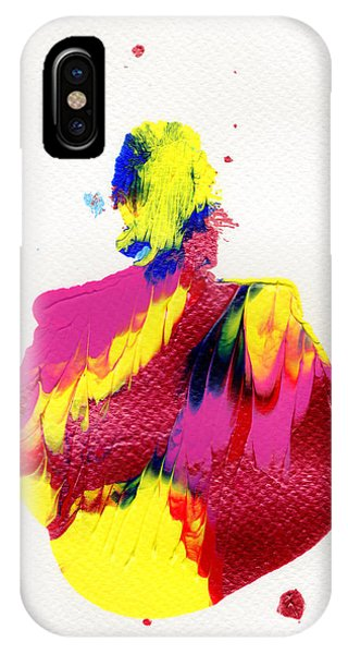 IPhone Case featuring the painting Lady Dressed In A Ballroom Gown by Bee-Bee Deigner