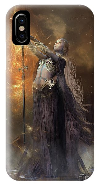 iPhone Case - Lady Of The Lake by Shanina Conway