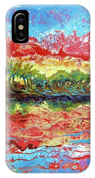 Lagoon Sunset IPhone Case