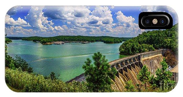 Lake Allatoona Dam IPhone Case