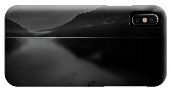 Lake Crescent 9 IPhone Case