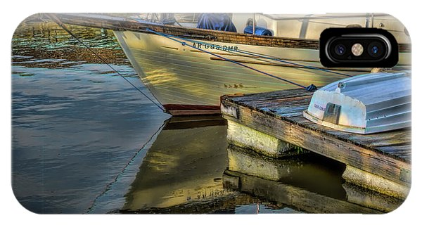 Lake Dardanelle Marina IPhone Case