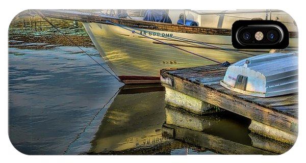 Lake Dardanelle Marina IPhone Case