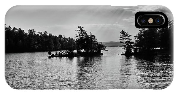 iPhone Case - Lake George Light by David Patterson