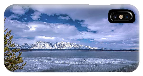 Lake Jackson Wyoming IPhone Case