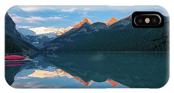 Lake Louise Sunrise IPhone Case