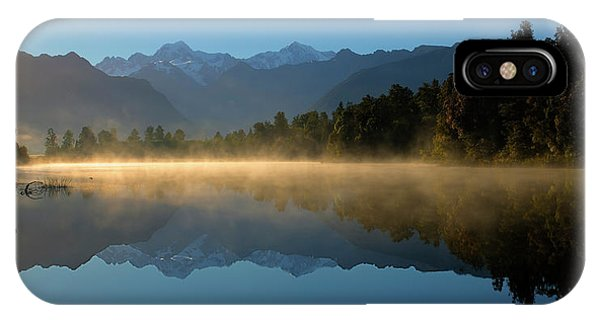 Lake Matheson Morning IPhone Case