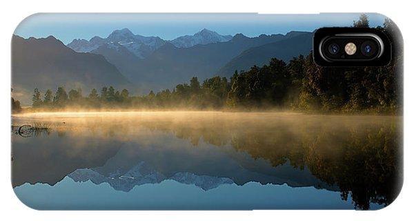 Lake Matheson Morning IPhone Case