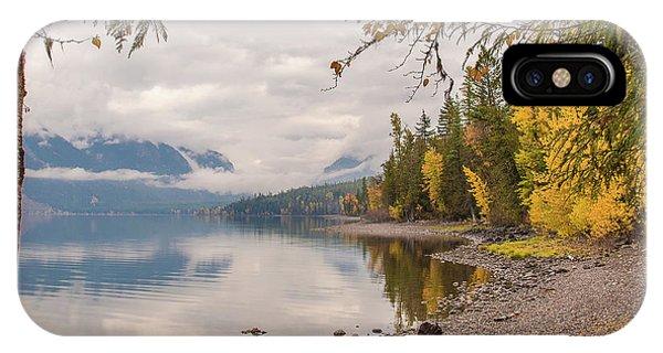 Lake Mcdonald In Glacier Np IPhone Case
