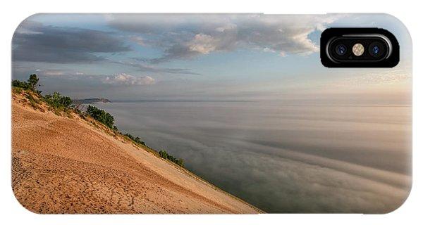 iPhone Case - Lake Michigan Overlook 11 by Heather Kenward