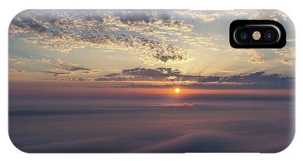 iPhone Case - Lake Michigan Overlook 15 by Heather Kenward