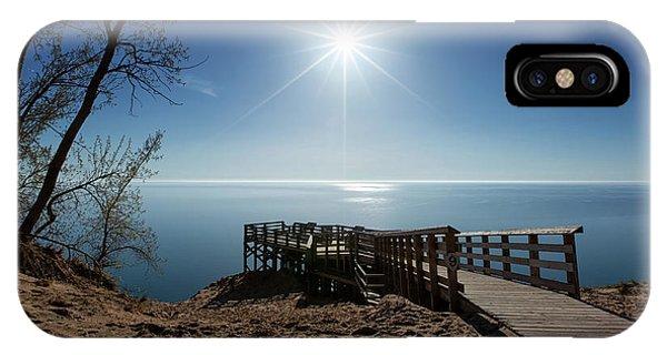 iPhone Case - Lake Michigan Overlook 2 by Heather Kenward