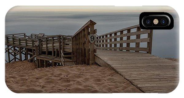 iPhone Case - Lake Michigan Overlook 5 by Heather Kenward