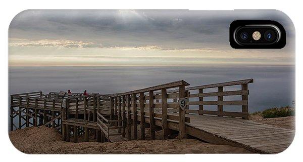 iPhone Case - Lake Michigan Overlook 6 by Heather Kenward