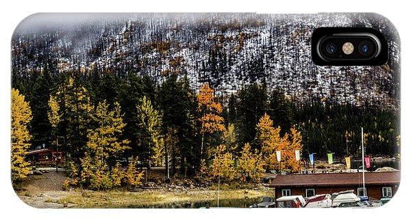Lake Minnewanka, Banff National Park, Alberta, Canada IPhone Case