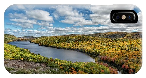 iPhone Case - Lake Of The Clouds 2 by Heather Kenward